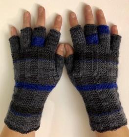 Handschuhe fingerfrei, Marktfrauen, Musiker, Reiter,... Größe 7 - 9