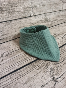 Baby Dreiecktuch, Halstuch aus Musselin, Sabbertuch, Lätzchen 6-12 Monate  - Handarbeit kaufen