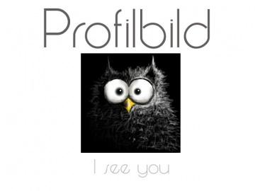 Profilbild für dein Shop auf Palundu Motiv Eule ♡ I see you ♡