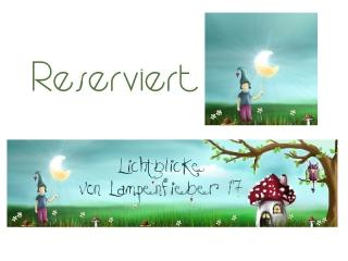 RESERVIERT  Shopbanner und Profilbild( aus dem wildergarten ) minimal verändert/bearbeitet