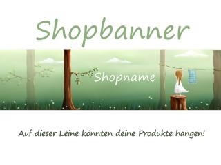 Shopbanner für dein Shop auf Palundu ♡ WaldKind ♡