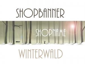 Shopbanner für dein Shop auf Palundu     ♡ Winterwald♡
