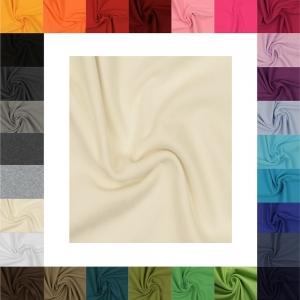 Bündchenstoff Natur, Strickschlauch, glatt/fein, 35cm Schlauch, 0,25cm, Meterware,Uni, Bündchen