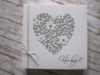 Geldgeschenk Hochzeit handgefertigte Geschenkschachtel - Handarbeit kaufen