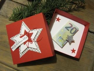 Geldgeschenk Weihnachten, Geschenk Weihnachten - Handarbeit kaufen