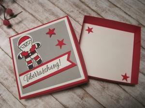 Geldgeschenk Nikolaus, Geldgeschenk Weihnachten - Handarbeit kaufen