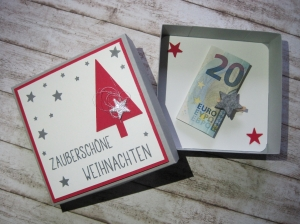 Geldgeschenk Weihnachten,Wunschbox,Geschenkbox - Handarbeit kaufen