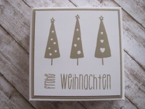 Geldgeschenk Weihnachten, Weihnachtsgeschenk - Handarbeit kaufen