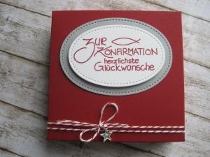 Geldgeschenk Konfirmation, Geschenkschachtel Konfirmation - Handarbeit kaufen