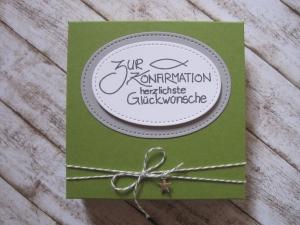 Geldgeschenk Konfirmation, Konfirmation Geschenk, Verpackung Gutscheinkarte - Handarbeit kaufen