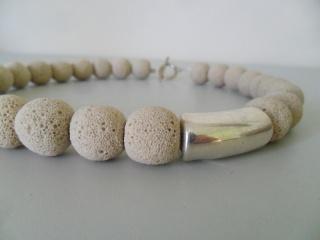 Kleine Lava Elfenbein - Handarbeit kaufen