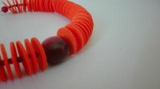 Filz-Orange - Handarbeit kaufen