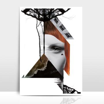 A4 Artprint Rotschopf