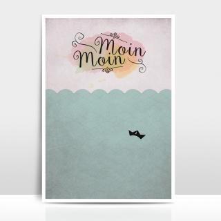 A4 Artprint Moin Moin