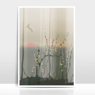 A4 Artprint Magic Forest