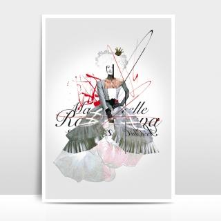 A4 Artprint Mademoiselle