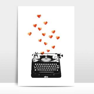 A4 Artprint Loveletter