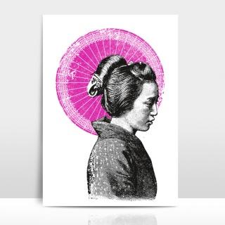 A4 Artprint Geisha