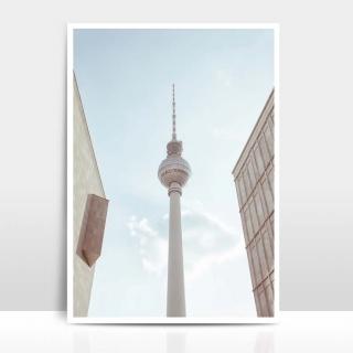 A4 Artprint Fernsehturm Berlin