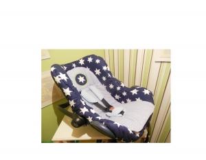 4 er Set Babyschalenbezug ,  Sitzauflage , Gurtpolster , Sitzverkleinerer - Ebook