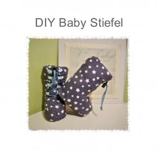 Schnittmuster für Babystiefel Ebook Schuhe Winterstiefel