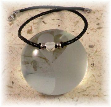 *Valentinstagsrabatt* #Mon Coeur# handgemachte Designer Leder Halskette für Damen und Mädchen