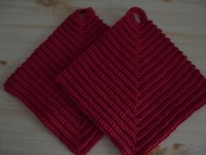 Handgefertigte Topflappen aus Baumwolle für ihre Küche oder als Dekoration-Baumwolle-Geschenk-Weihnachten-Kochen-Küche-Backen-Handgemacht-gehäkelt-Handgehäkelt (Kopie id: 100165769