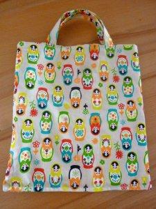 Kindertasche * Stoffbeutel * Einkaufstasche aus Baumwollstoffen genäht kaufen * Wendetasche ~ Matroschka ~ - Handarbeit kaufen
