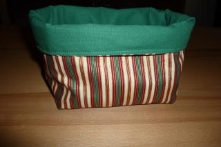 Utensilo aus Baumwollstoffen genäht kaufen* Aufbewahrungskorb   * Körbchen ~ Weihnachtszeit - Handarbeit kaufen