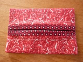 Taschentücher Tasche aus Baumwollstoffen genäht kaufen* TaTüTa* Kosmetiktäschchen ~ griffbereite Taschentücher - Handarbeit kaufen