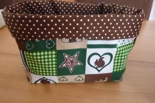 Utensilo * Aufbewahrungskorb aus Baumwollstoffen genäht kaufen * Körbchen ~ Advents-/Weihnachts und Geschenkezeit