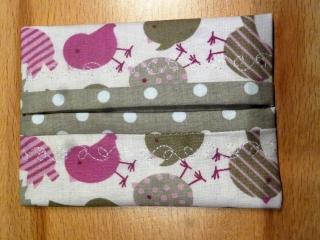 Taschentücher Tasche, genäht aus Baumwollstoff kaufen * TaTüTa* Kosmetiktäschchen ~ griffbereite Taschentücher