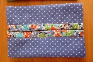 Taschentücher Tasche, genäht aus Baumwollstoff kaufen* TaTüTa* Kosmetiktäschchen ~ griffbereite Taschentücher  - Handarbeit kaufen