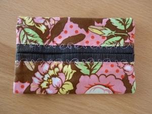 Retro - Blumenmuster Taschentücher Tasche in braun - rosé kaufen ~**~ TaTüTa