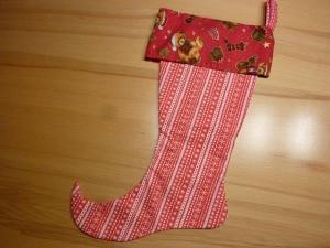 Nikolausstiefel  ~*~ Elfenstiefel  genäht aus Baumwollstoffen kaufen ~*~ Weihnachtszeit ~ Advent ~ Deko  - Handarbeit kaufen