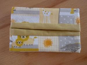 Taschentücher Tasche genäht aus Baumwollstoffen kaufen * TaTüTa* Kosmetiktäschchen ~ griffbereite Taschentücher  - Handarbeit kaufen