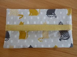 Taschentücher Taschen genäht aus Baumwollstoffen mit Katzen kaufen * TaTüTa* Kosmetiktäschchen ~ griffbereite Taschentücher  - Handarbeit kaufen