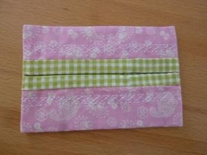 Taschentücher Tasche genäht aus Baumwollstoffen mit Paisleymuster kaufen * TaTüTa* Kosmetiktäschchen ~ griffbereite Taschentücher   - Handarbeit kaufen
