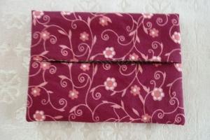Wende-Taschentücher Tasche genäht aus Baumwollstoffen mit Blümchen und Karos kaufen * TaTüTa* Kosmetiktäschchen ~ griffbereite Taschentücher  - Handarbeit kaufen