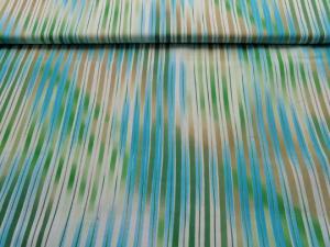 weicher Baumwoll-Stretch mit Streifen