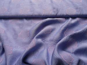 Viskose-Baumwoll-Mischung in hellem lila
