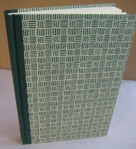 handgebundenes Adressbuch mit ABC- Register im Gewebe+Dekopapier-Einband