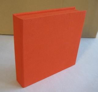 handgemachte CD-Klappkassette mit ineinandergreifenden Wänden