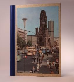 handgebundene Schreibmappe mit Vintage Berlin- Bild auf dem Einband  (Kopie id: 100145270)