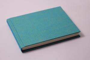 handeingebundenes Schreibbuch mit Mattleinen-Einband (Kopie id: 100147604)