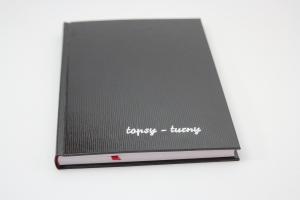 handgebundenes Schreibbuch mit glatten Einband   (Kopie id: 100147968)