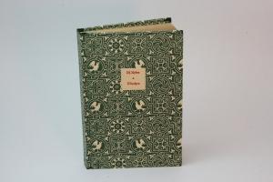 Märchen zusammengestellt von Manfred Kyber,1922, handeingebundenes antiquarisches Lesebuch im Edelpapp-Einband mit Lederbesatz