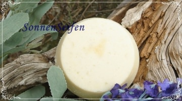 ★ Schäumende Salzseife Tangerine-Lavendel VEGAN ★ 7,50 EUR/100 g