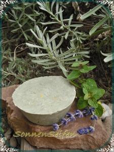 Festes Shampoo Lavendel-Melisse OHNE Glycerin VEGAN  Solid Shampoo Shampoobar