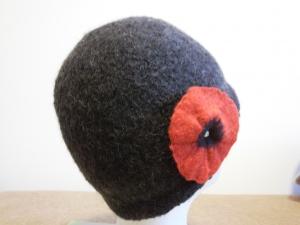 Mütze mit Blüte im 30ger Jahre Stil - Handarbeit kaufen
